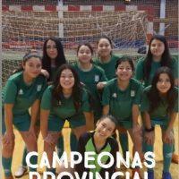 Campeonas al regional de futsal